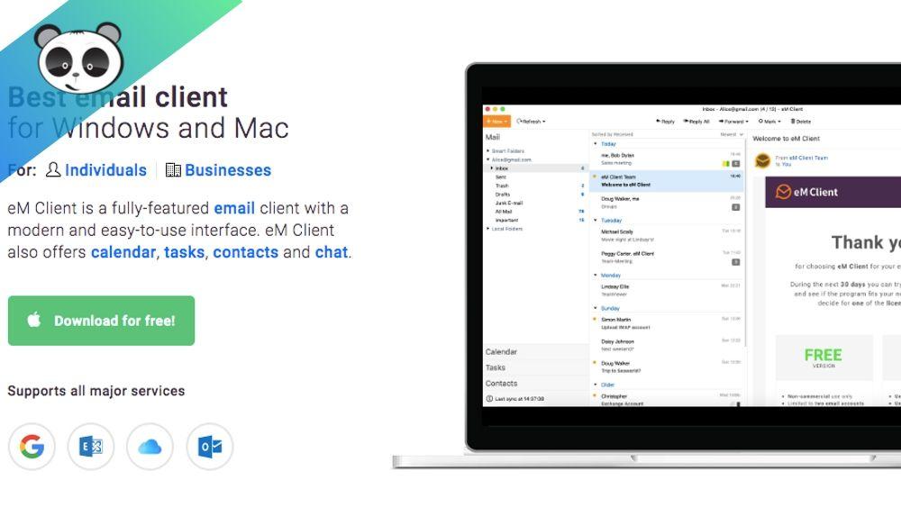 Phần mềm quản lý email hiệu quả eM-client