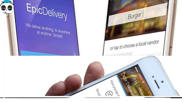 lập trình website app order món