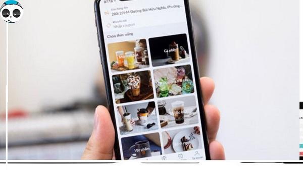 thiết kế website app gọi món