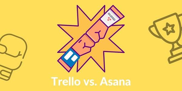 ưu nhược điểm của 2 phần mềm quản lý công việc trello và asana