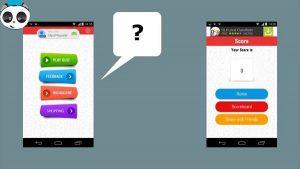template ứng dụng cho thiết bị di động