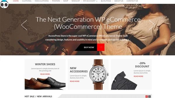 template bán hàng wordpress