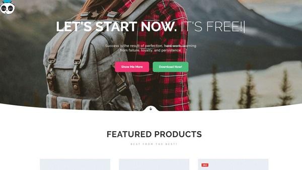 theme wordpress free bán hàng
