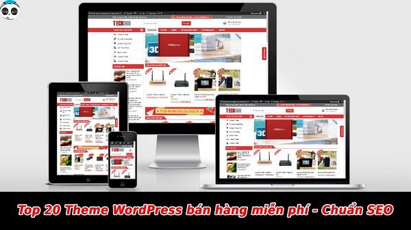 giao diện wordpress bán hàng