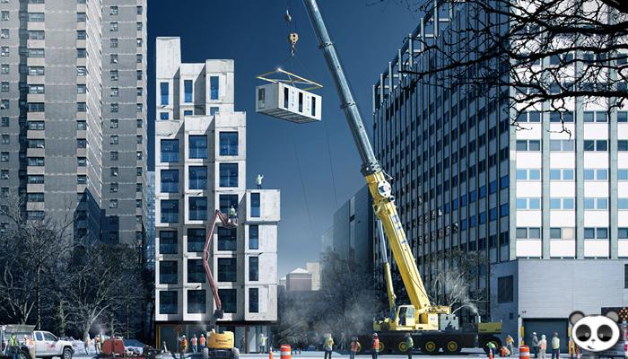 Module trong kiến trúc xây dựng