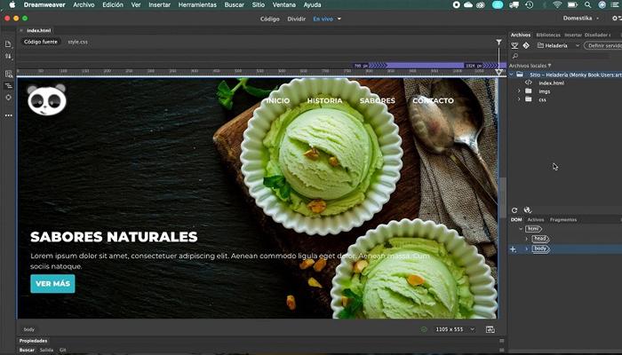 Phần mềm lập trình web mạnh mẽ - Adobe Dreamweaver