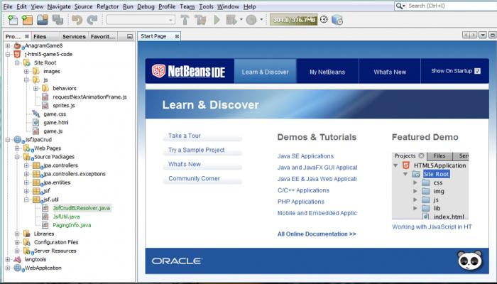Phần mềm lập trình web đa ngôn ngữ - NetBeans