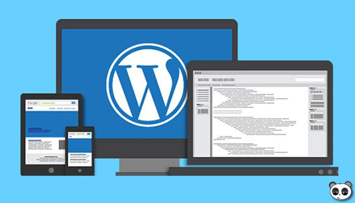 Phần mềm thiết kế web kéo thả chuyên nghiệp - WordPress