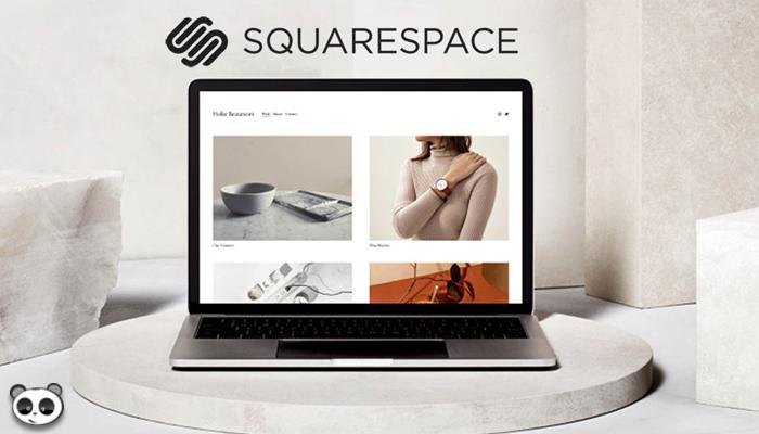 Phần mềm thiết kế website bán hàng - Squarespace
