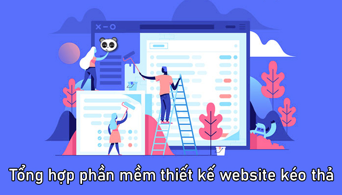Tổng hợp phần mềm thiết kế web kéo thả không cần code