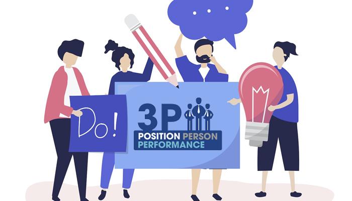 Cách tính lương nhân viên theo phương pháp 3P