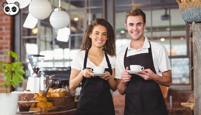 Một số kinh nghiệm phục vụ cho nhân viên quán cafe
