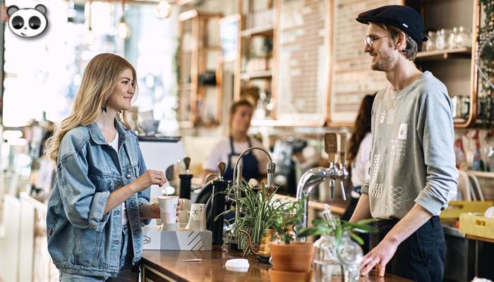 Quy trình phục vụ khách hàng của quán cafe